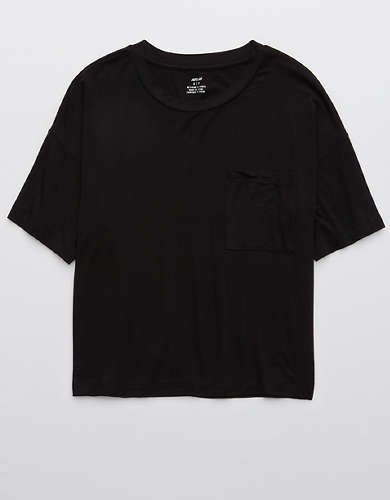 Aerie Real Soft® Cropped T-Shirt