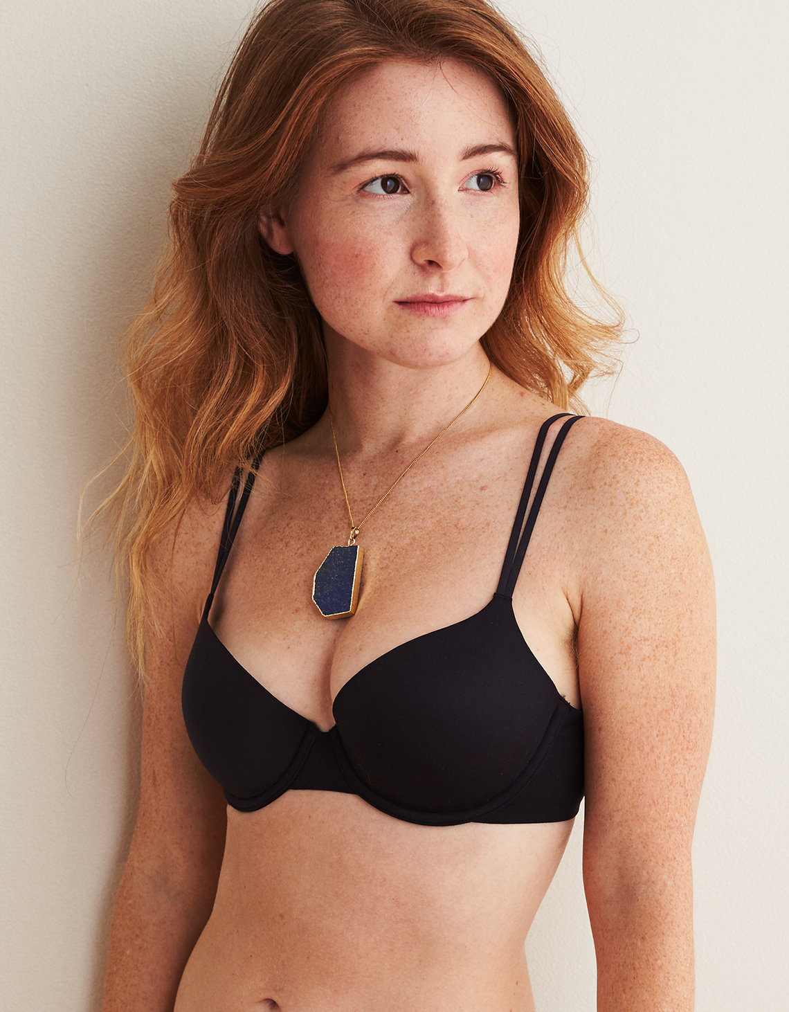 6bdaa50816 Aerie Real Sunnie Demi Lightly Lined Bra. Placeholder image. Product Image
