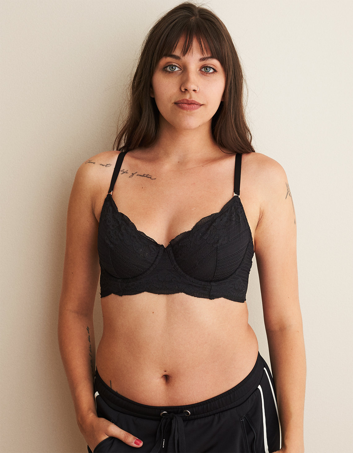 dbca66a1996ed3 Aerie Real Power Demi Unlined Bra. Placeholder image. Product Image
