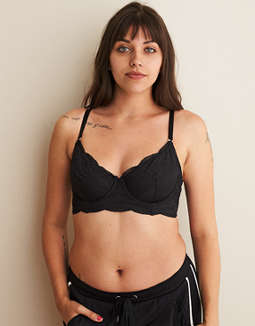 Aerie Real Power Demi Unlined Bra