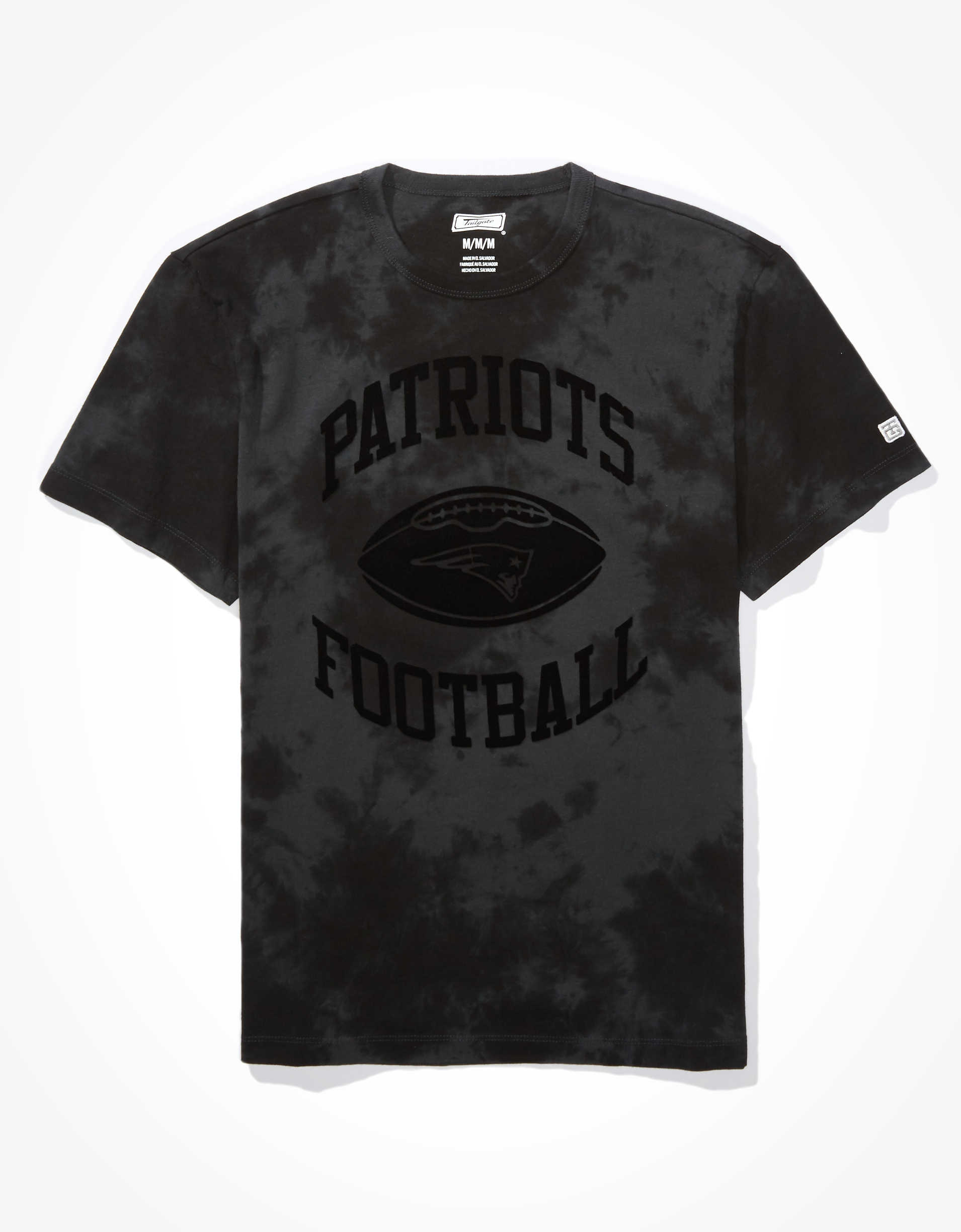 Tailgate Men's New England Patriots Tonal Dye T-Shirt