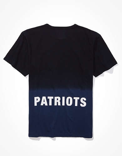 Tailgate Men's New England Patriots Dip-Dye T-Shirt
