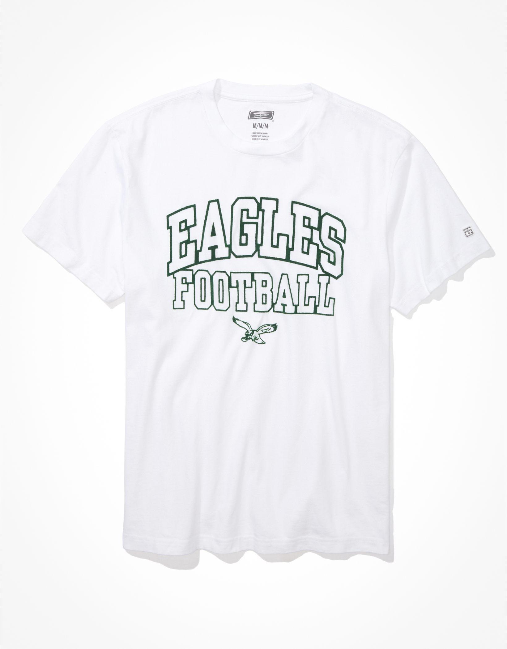 Tailgate Men's Philadelphia Eagles Outline Graphic T-Shirt