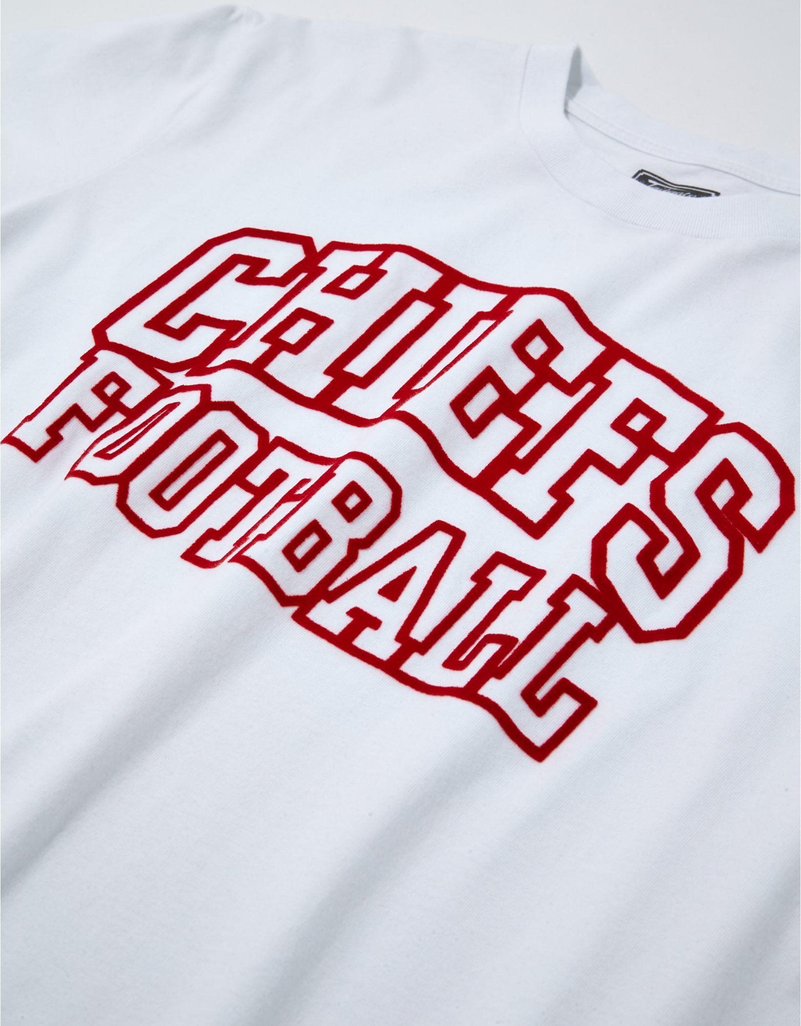 Tailgate Men's Kansas City Chiefs Outline Graphic T-Shirt