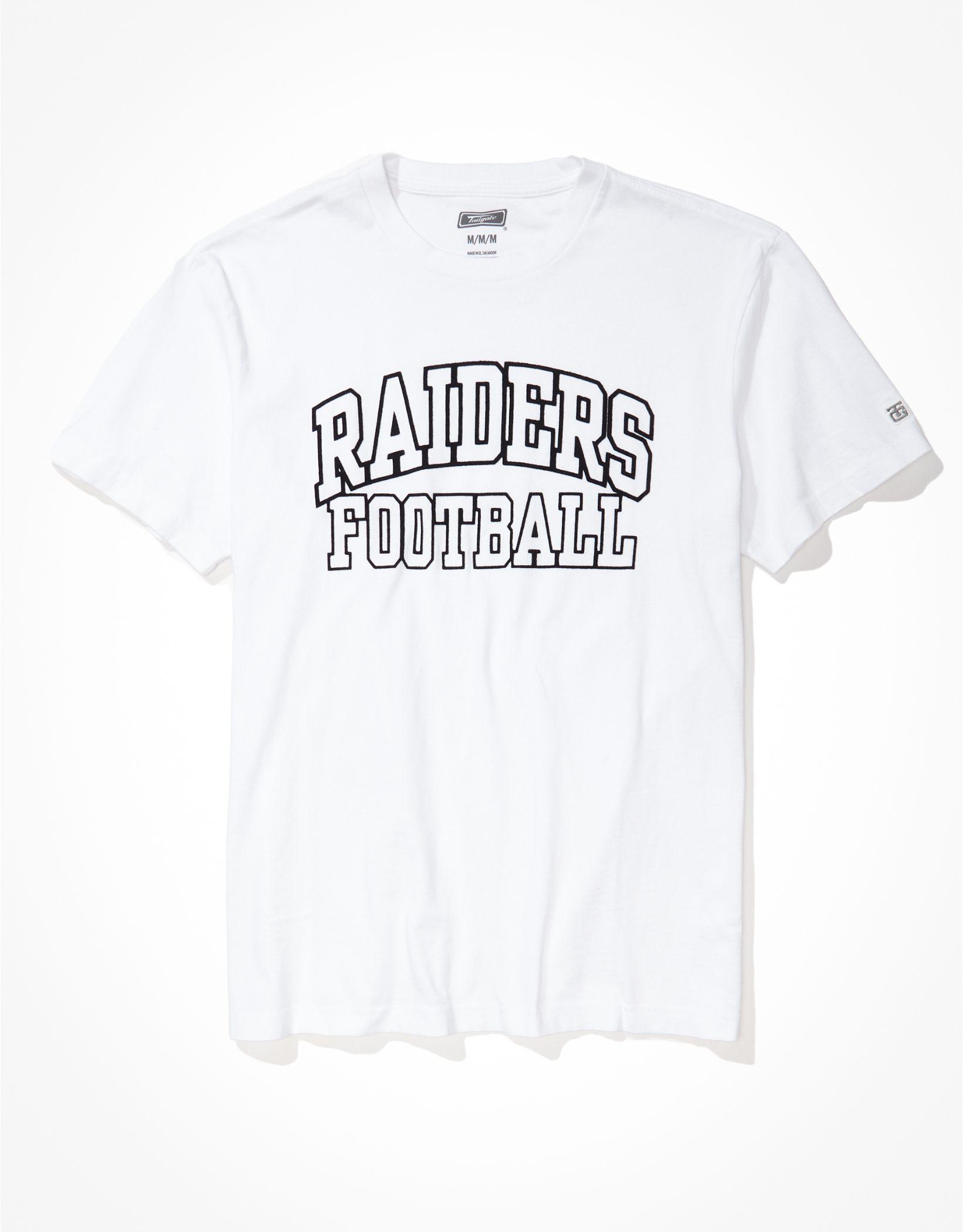 Tailgate Men's Las Vegas Raiders Outline Graphic T-Shirt
