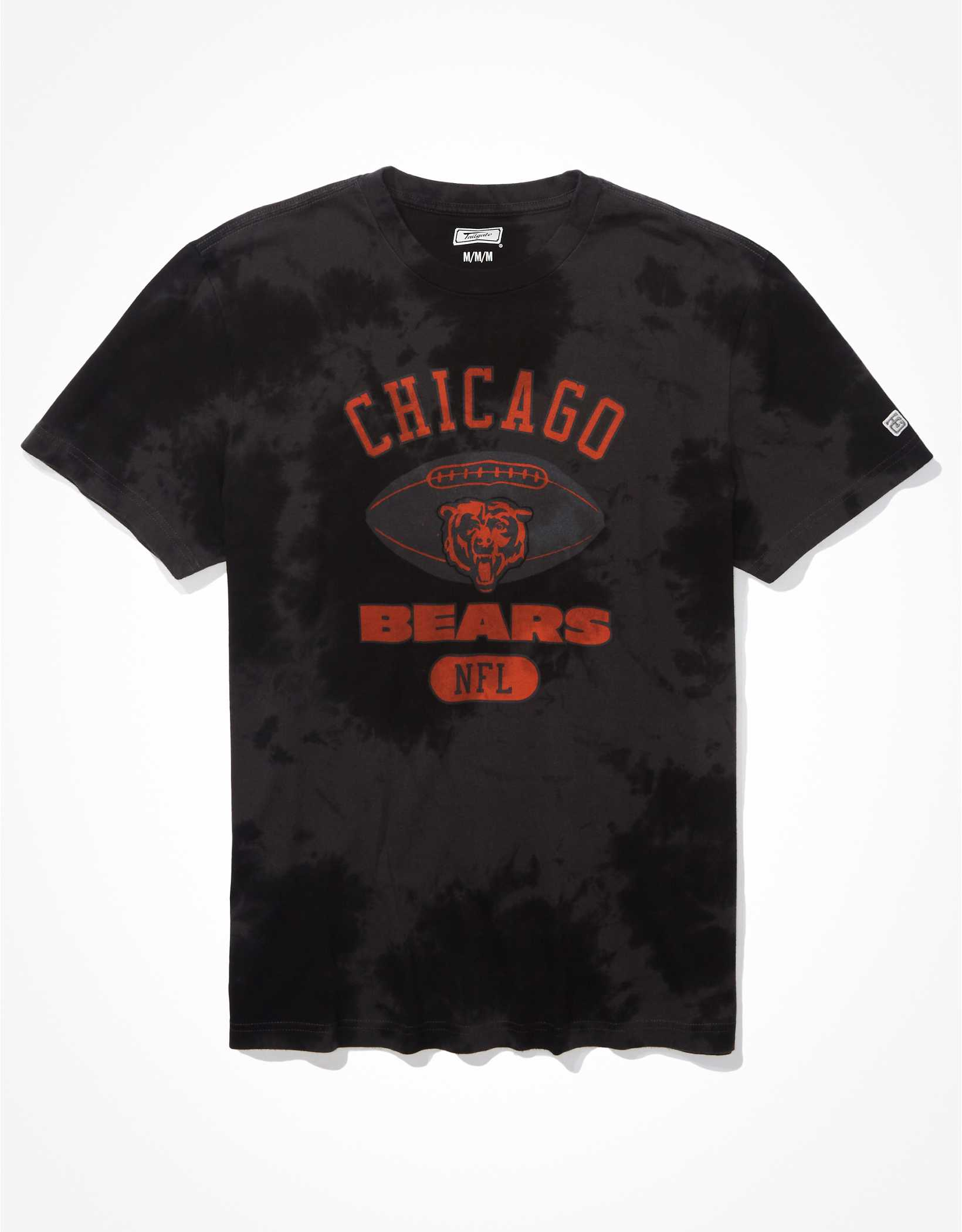 Tailgate Men's Chicago Bears Tonal Tie-Dye T-Shirt