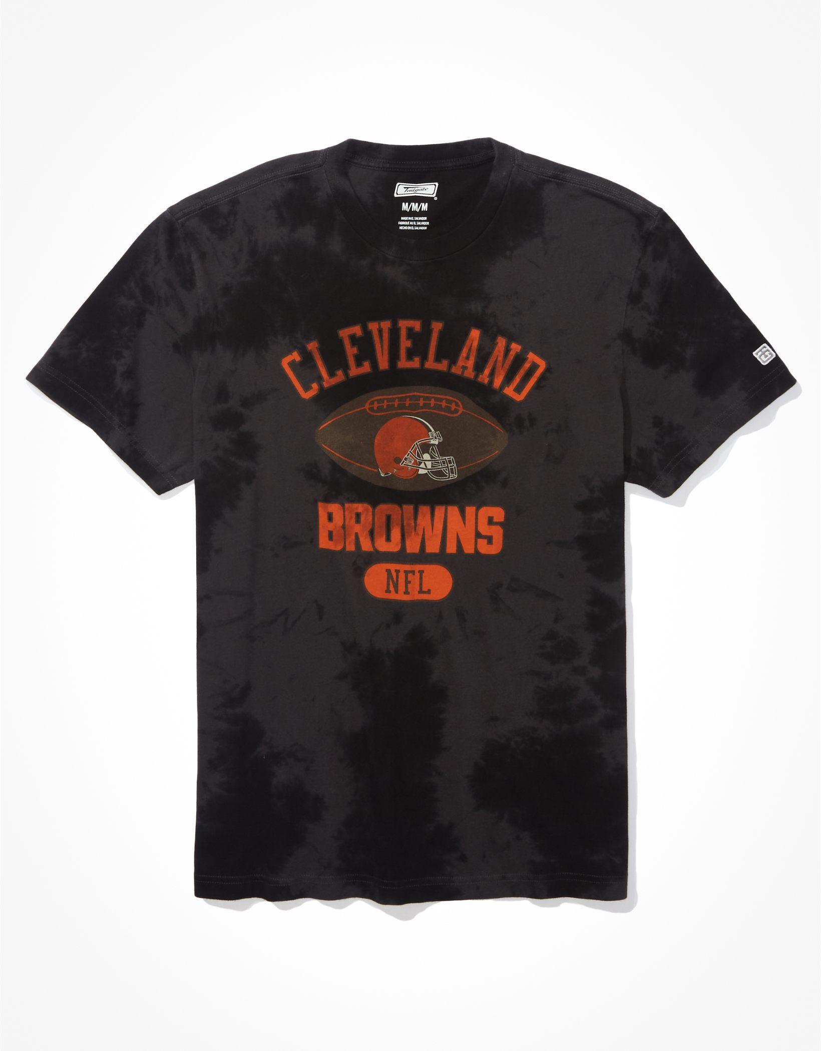 Tailgate Men's Cleveland Browns Tonal Tie-Dye T-Shirt