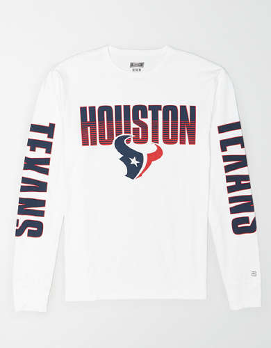 Tailgate Men's Houston Texans Long Sleeve T-Shirt