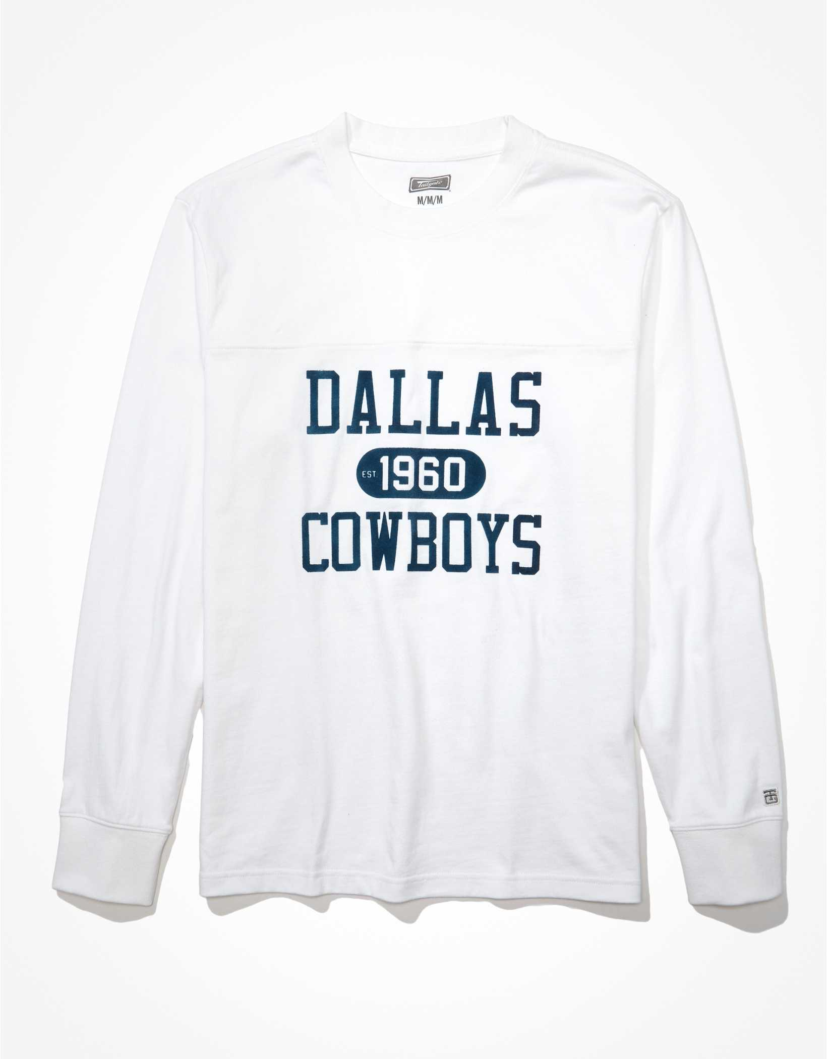Tailgate Men's Dallas Cowboys Long-Sleeve Heavyweight Shirt