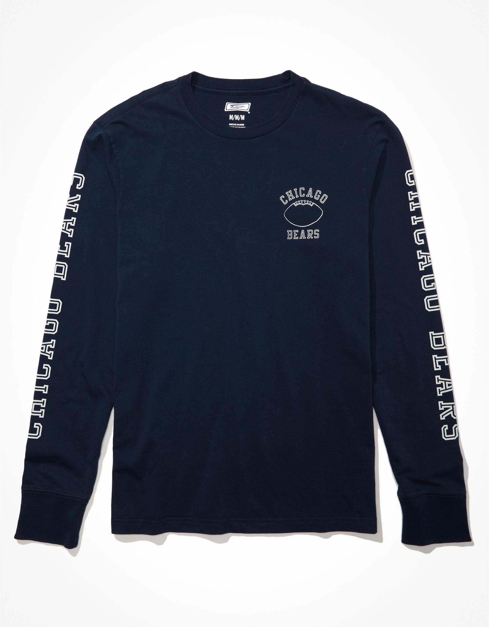 Tailgate Men's Chicago Bears Long-Sleeve Graphic T-Shirt