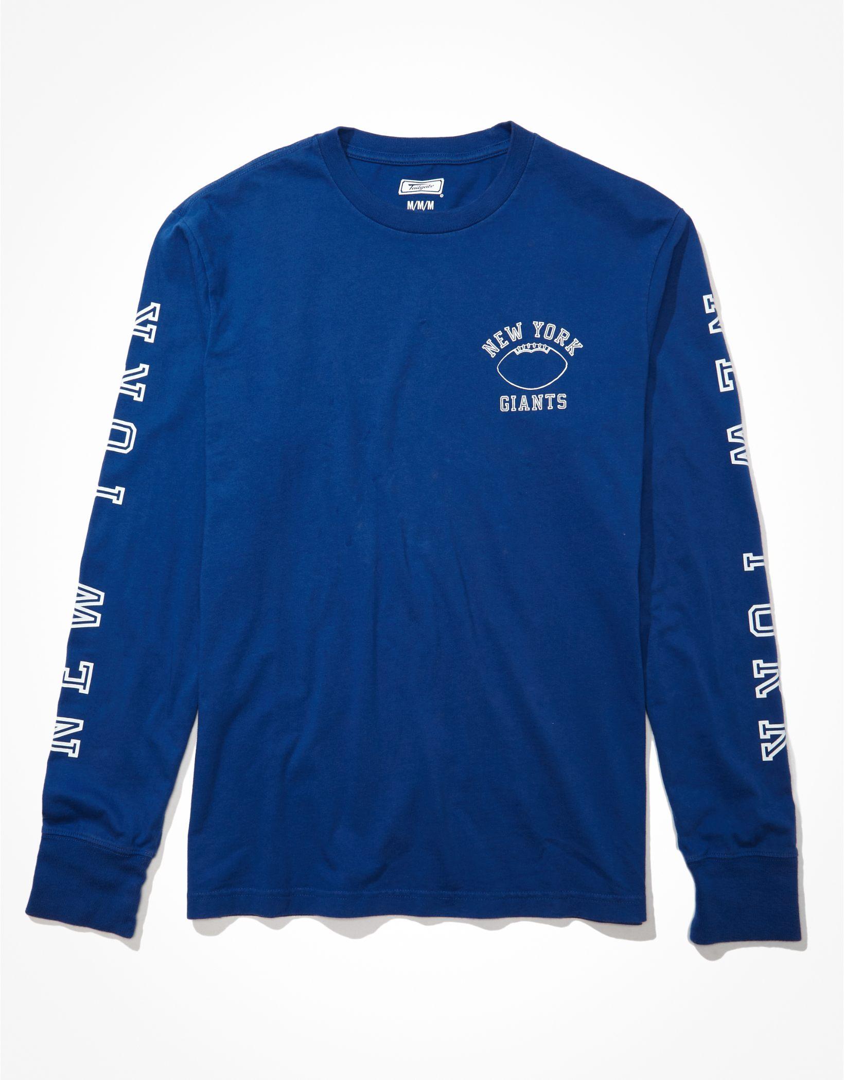 Tailgate Men's New York Giants Long-Sleeve Graphic T-Shirt