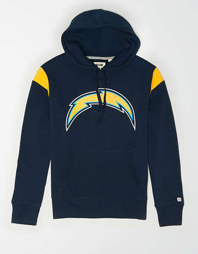 Tailgate Men's Los Angeles Chargers Fleece Hoodie