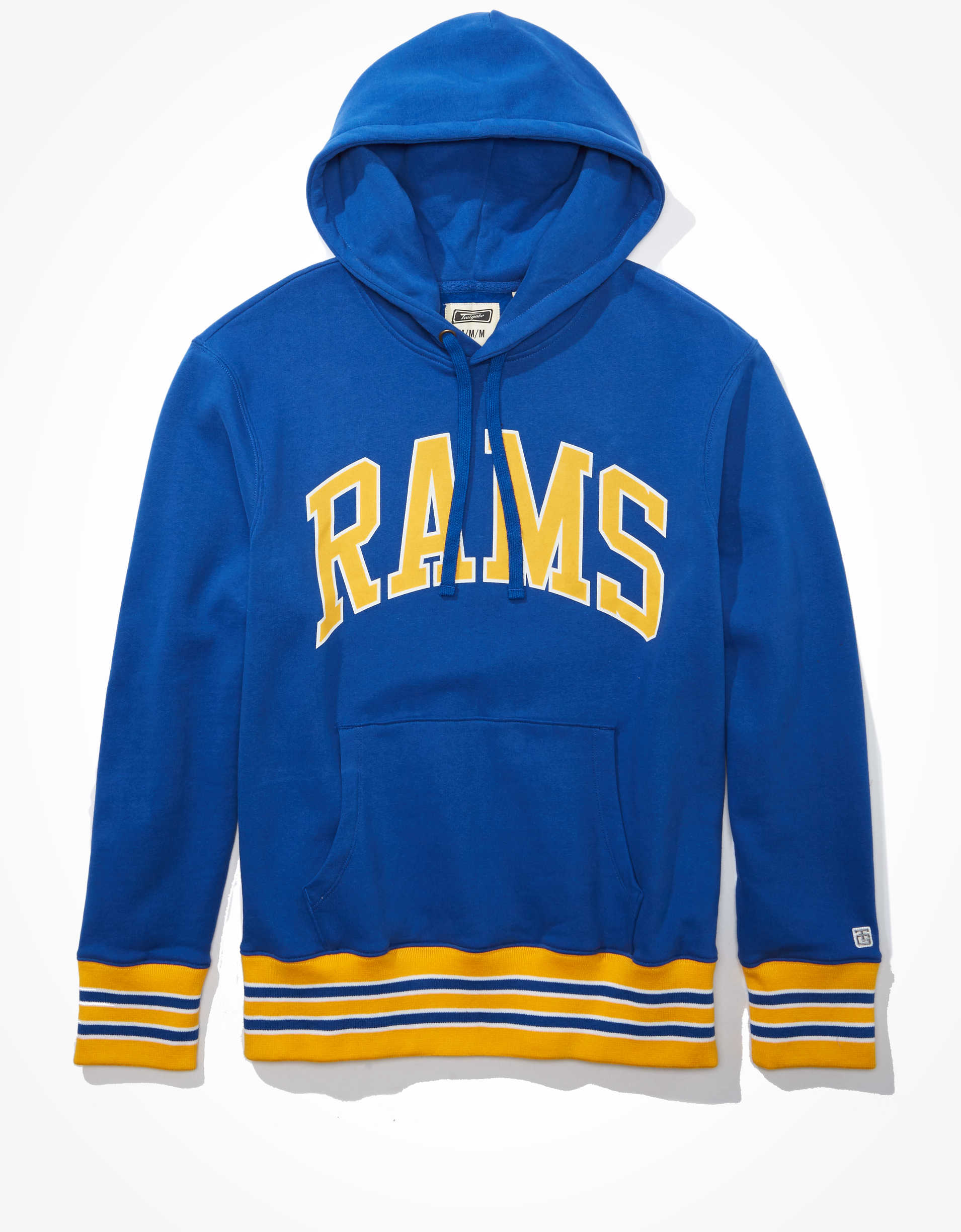 Tailgate Men's Los Angeles Rams Tipped Hoodie