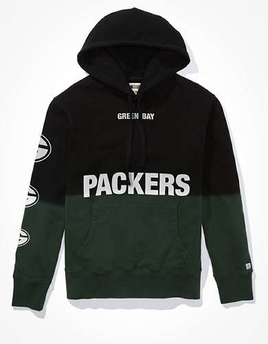 Tailgate Men's Green Bay Packers Dip-Dye Hoodie