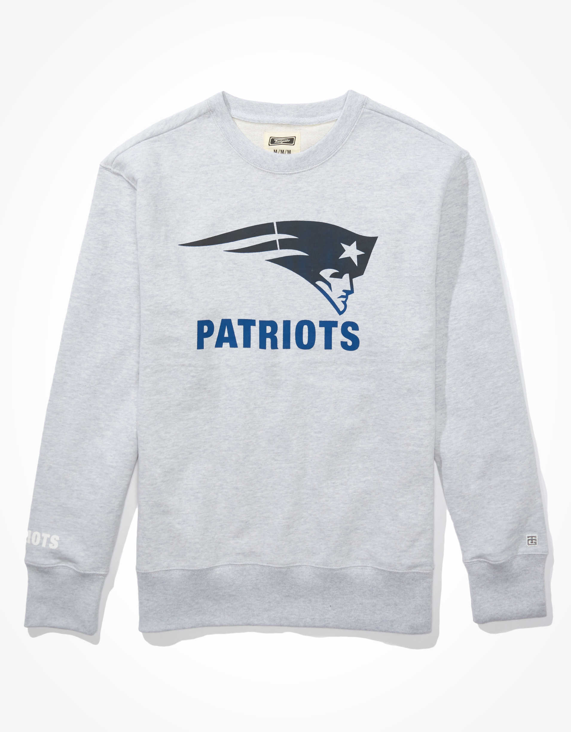 Tailgate Men's New England Patriots Crew Neck Sweatshirt