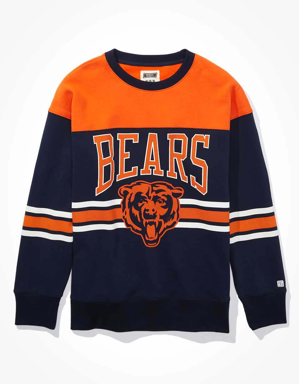 Tailgate Men's Chicago Bears Colorblock Sweatshirt