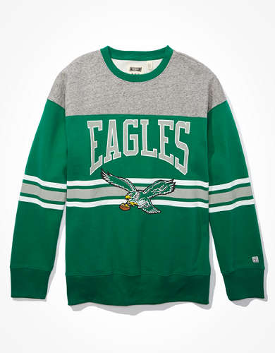 Tailgate Men's Philadelphia Eagles Colorblock Sweatshirt