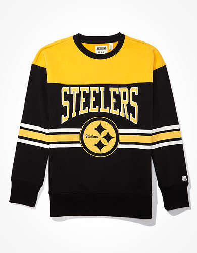 Tailgate Men's Pittsburgh Steelers Crew Neck Sweatshirt