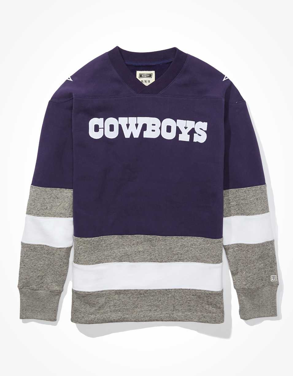 Tailgate Men's Dallas Cowboys Hockey Sweatshirt