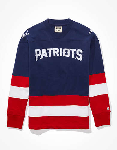 Tailgate Men's New England Patriots Hockey Sweatshirt