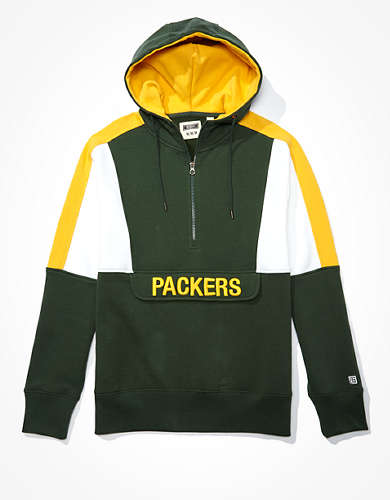 Tailgate Men's Green Bay Packers Anorak Hoodie