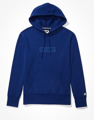 Tailgate Men's NY Giants Tonal Graphic Hoodie   American Eagle
