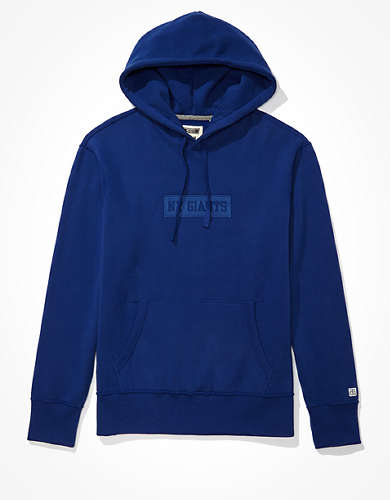 Tailgate Men's NY Giants Tonal Graphic Hoodie