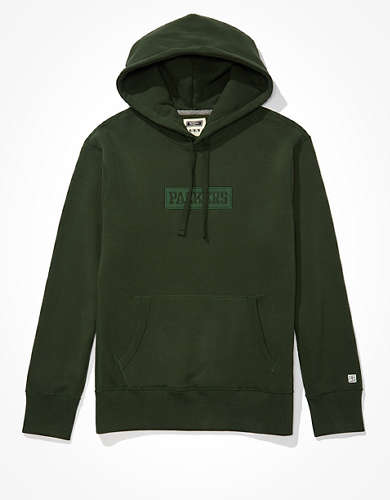 Tailgate Men's Green Bay Packers Tonal Graphic Hoodie