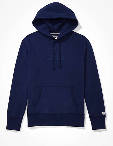Tailgate Men's NE Patriots Tonal Graphic Hoodie