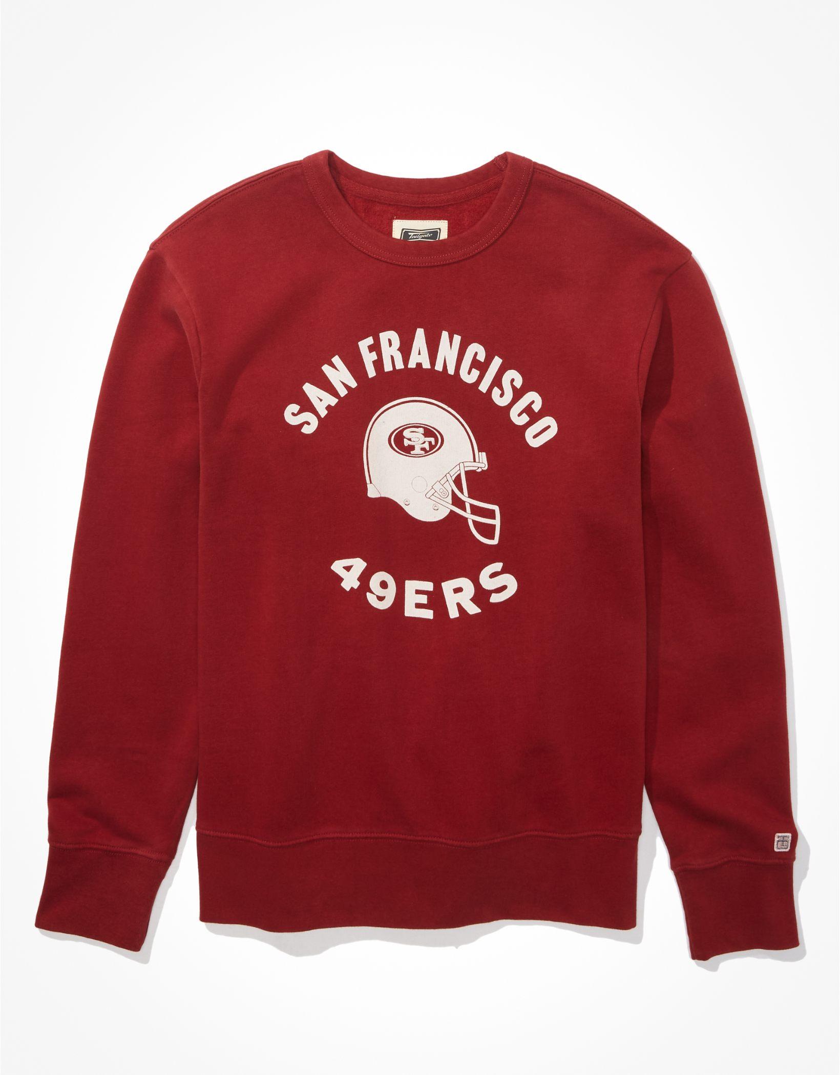 Tailgate Men's SF 49ers Graphic Fleece Sweatshirt