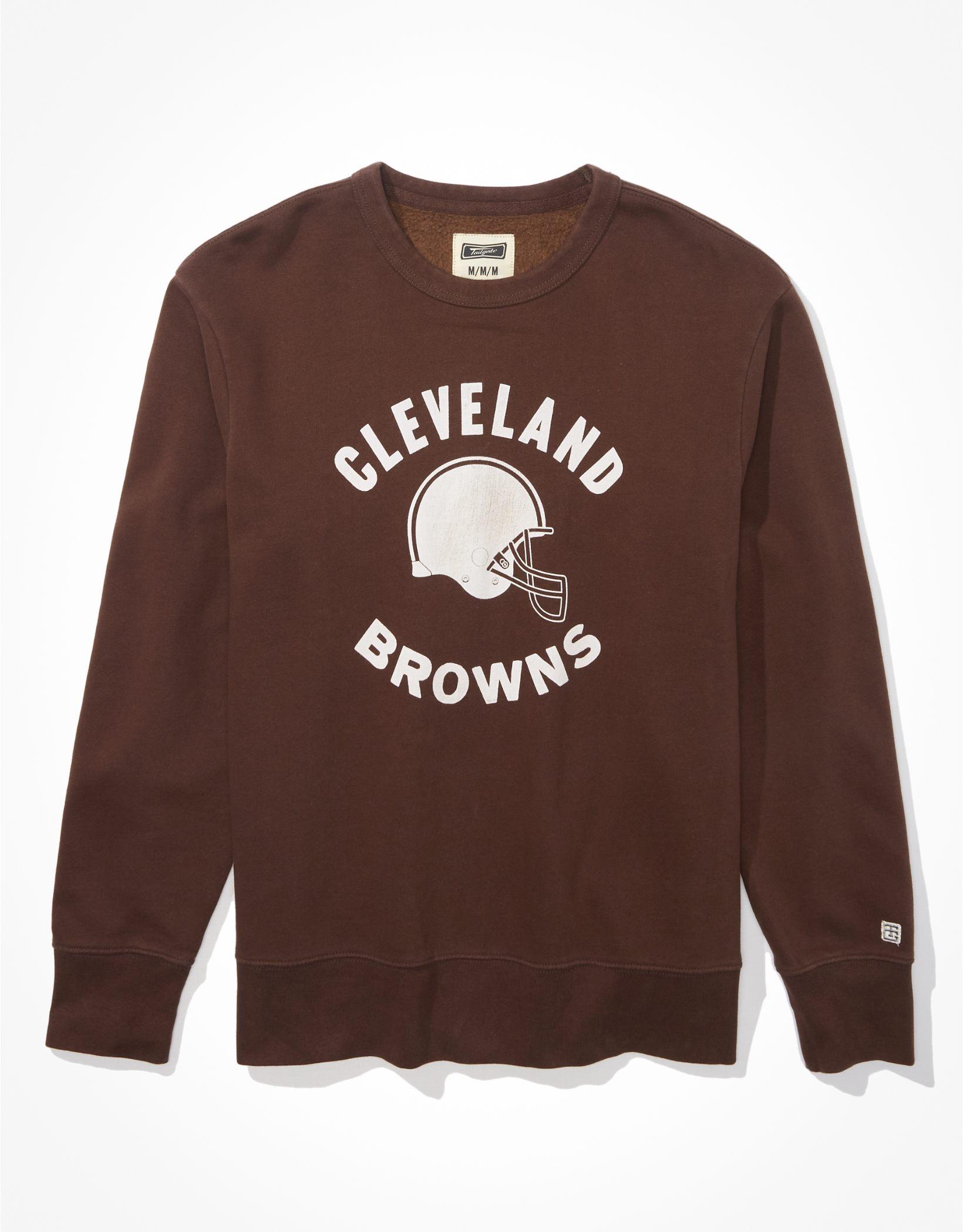 Tailgate Men's Cleveland Browns Graphic Fleece Sweatshirt