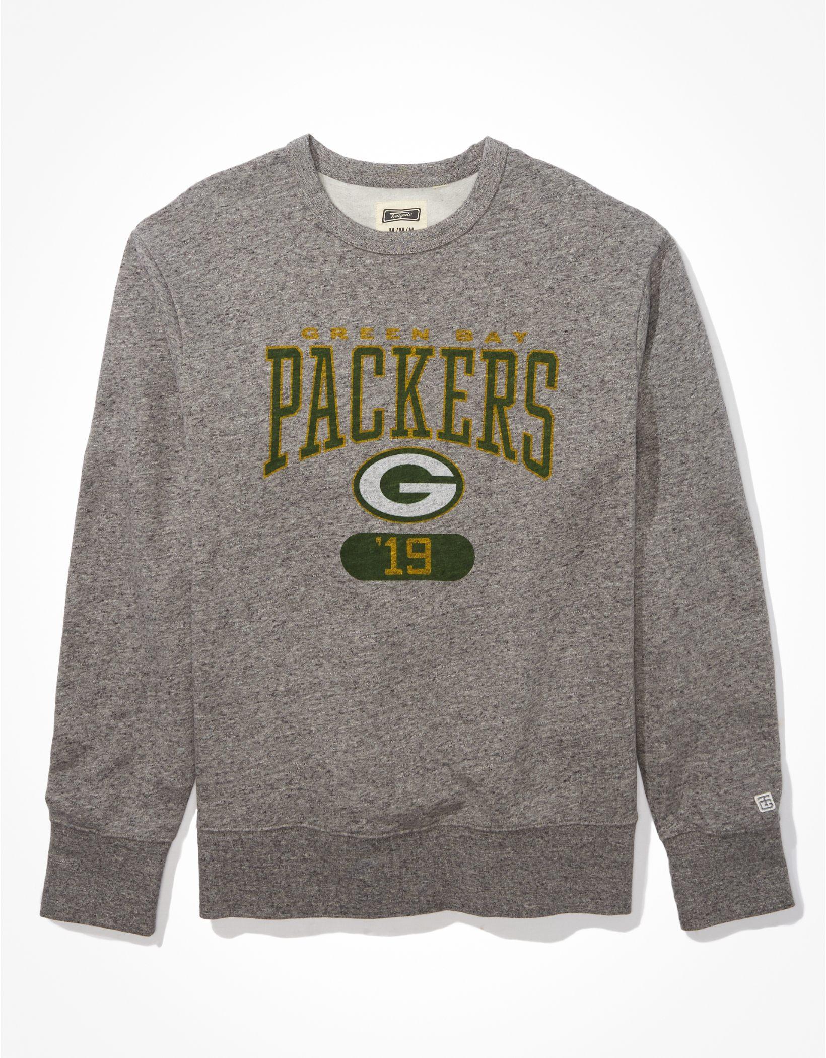 Tailgate Men's Green Bay Packers Graphic Fleece Sweatshirt