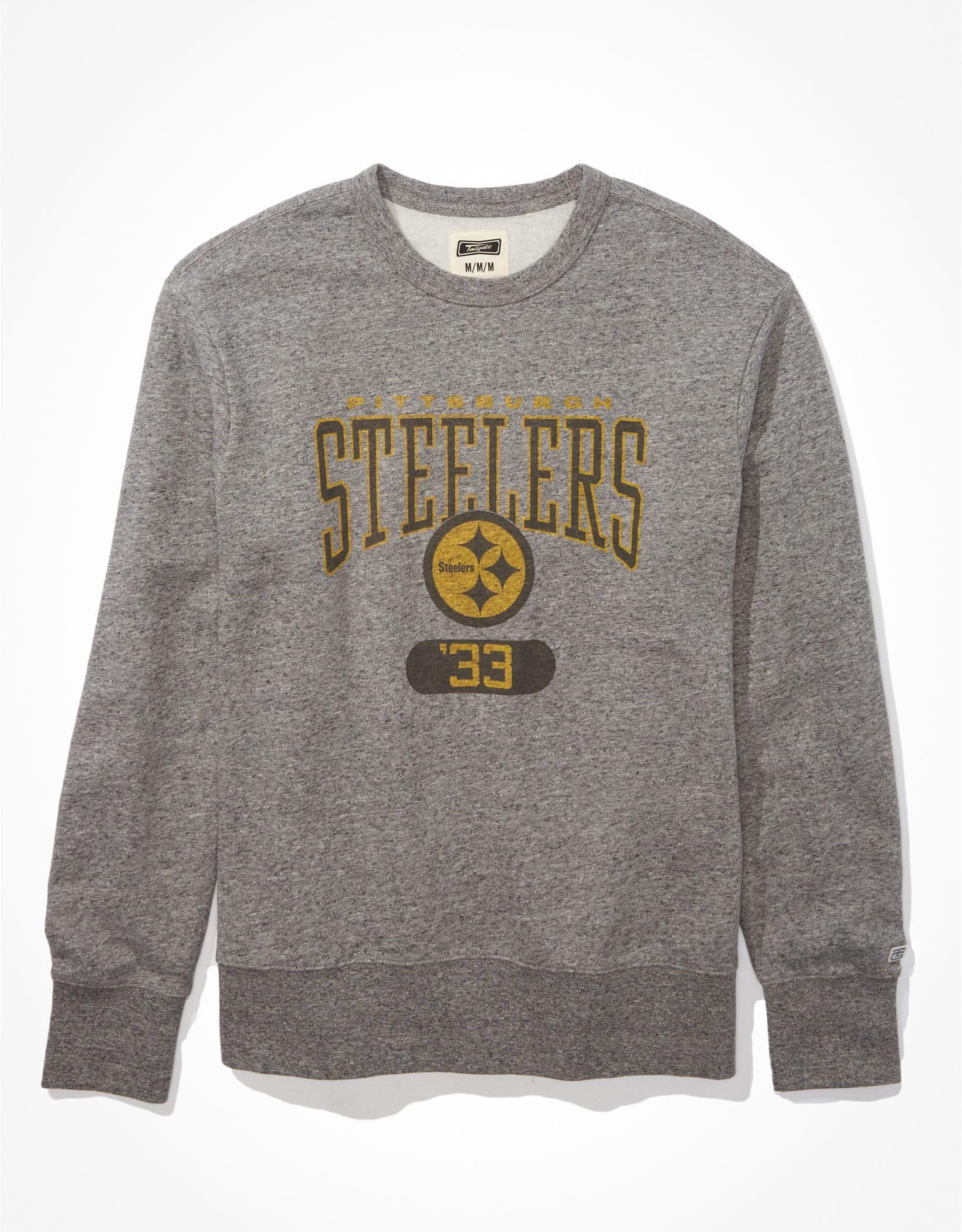 Tailgate Men's Pittsburgh Steelers Graphic Fleece Sweatshirt