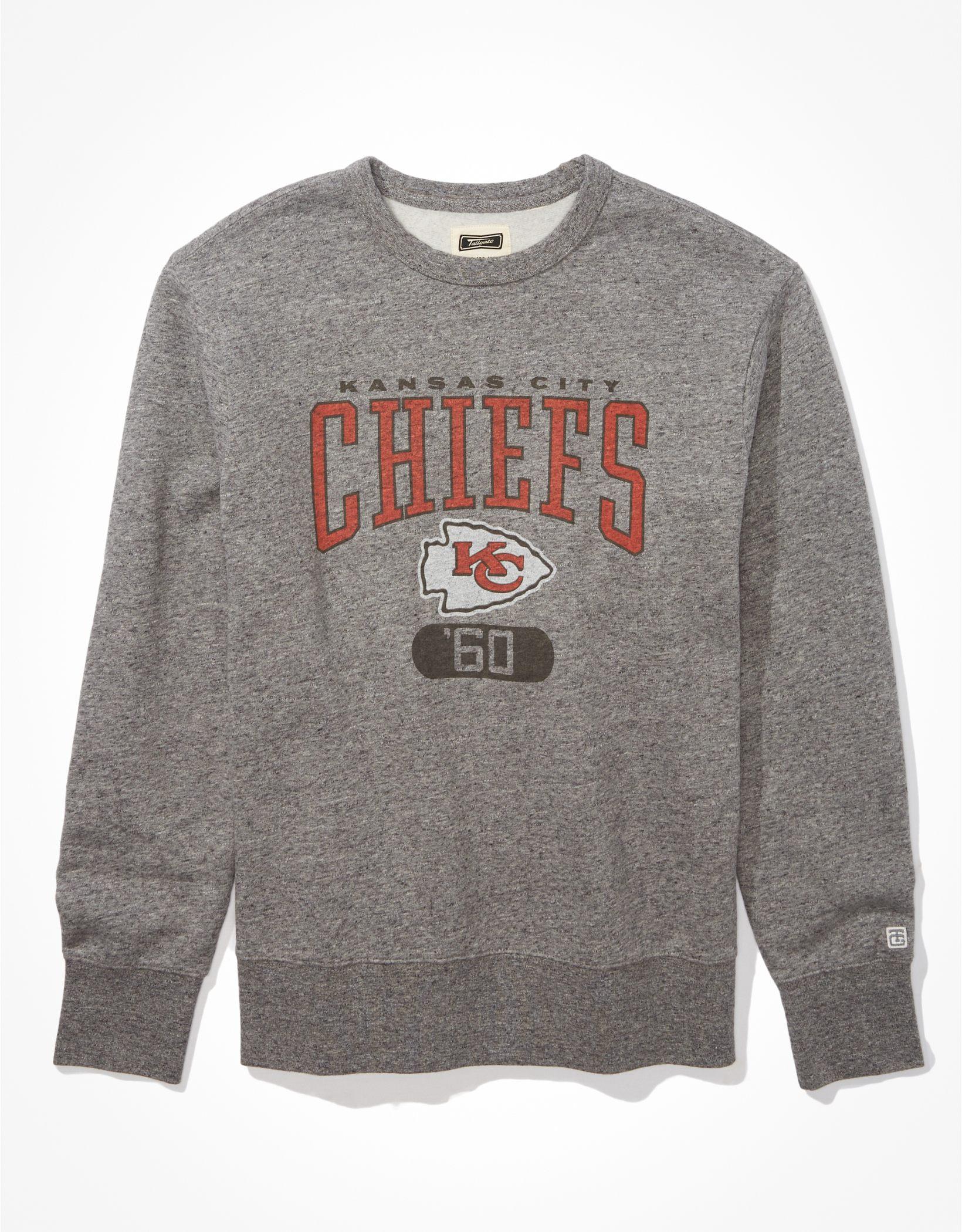 Tailgate Men's KC Chiefs Graphic Fleece Sweatshirt