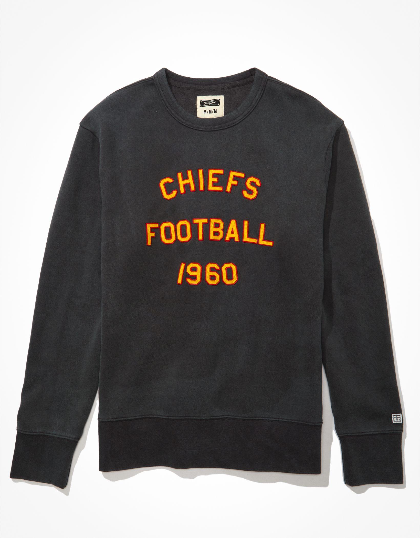 Tailgate Men's Kansas City Chiefs Graphic Fleece Sweatshirt