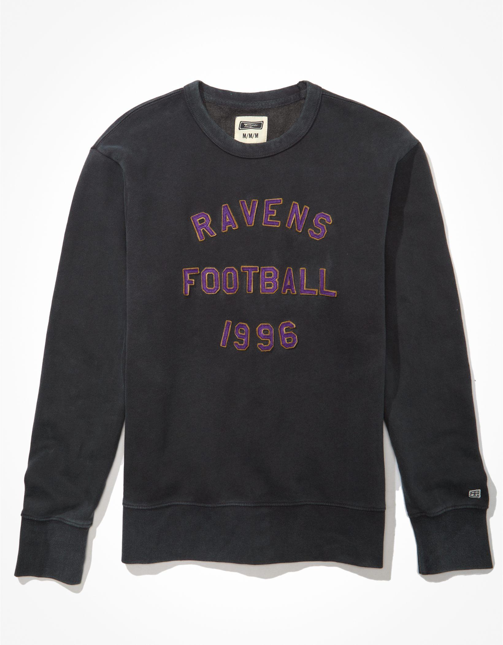 Tailgate Men's Baltimore Ravens Graphic Fleece Sweatshirt