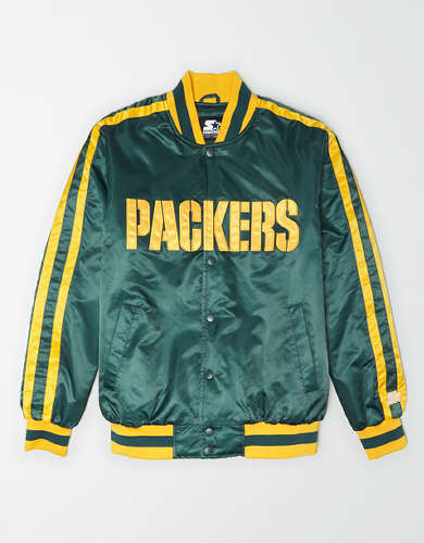 Tailgate X Starter Men's Green Bay Packers Varsity Jacket