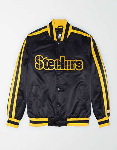 Tailgate X Starter Men's Pittsburgh Steelers Varsity Jacket