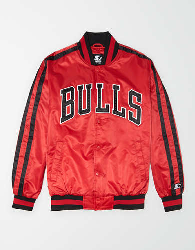 Tailgate X Starter Men's Chicago Bulls Varsity Jacket