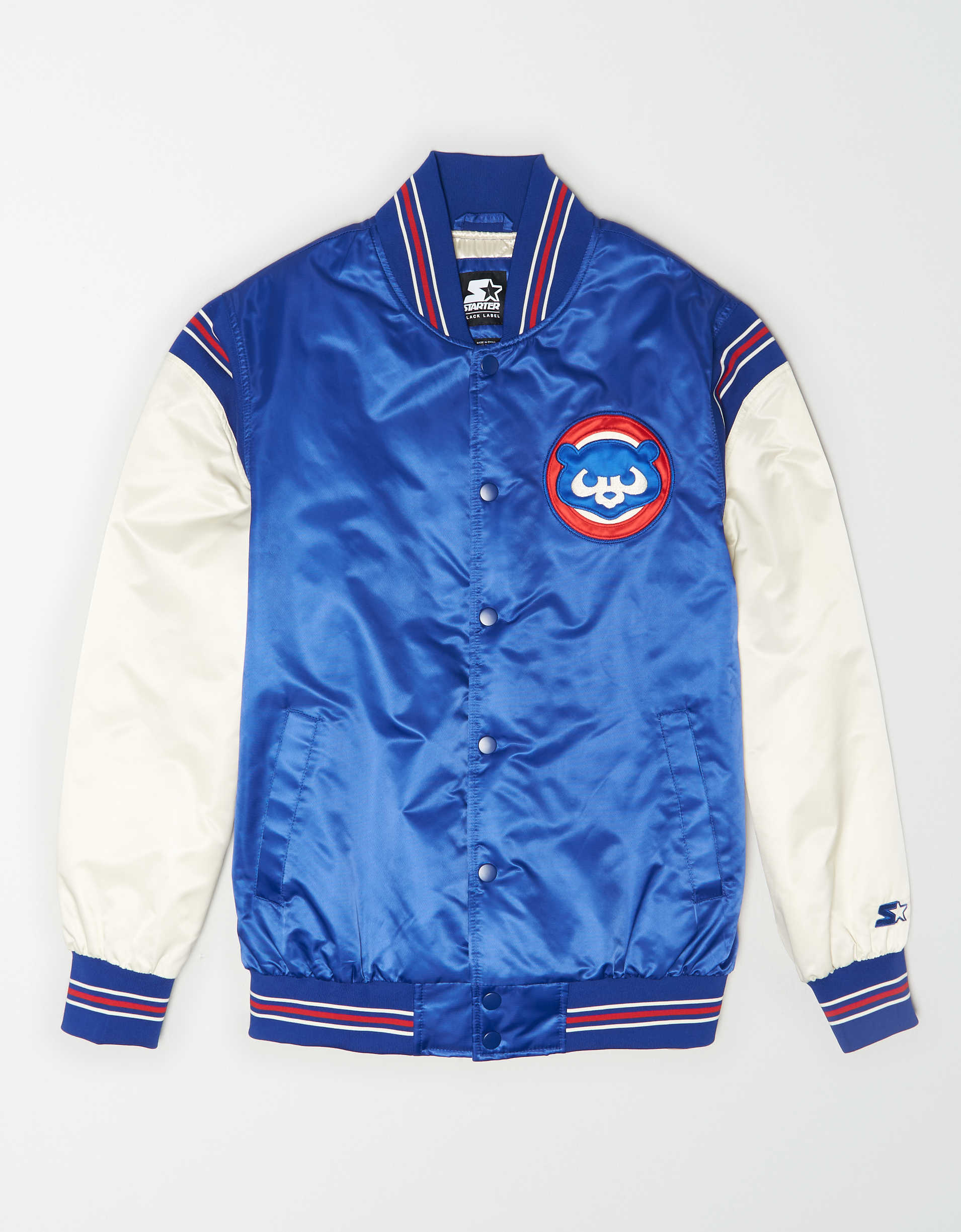 Tailgate X Starter Men's Chicago Cubs Varsity Jacket
