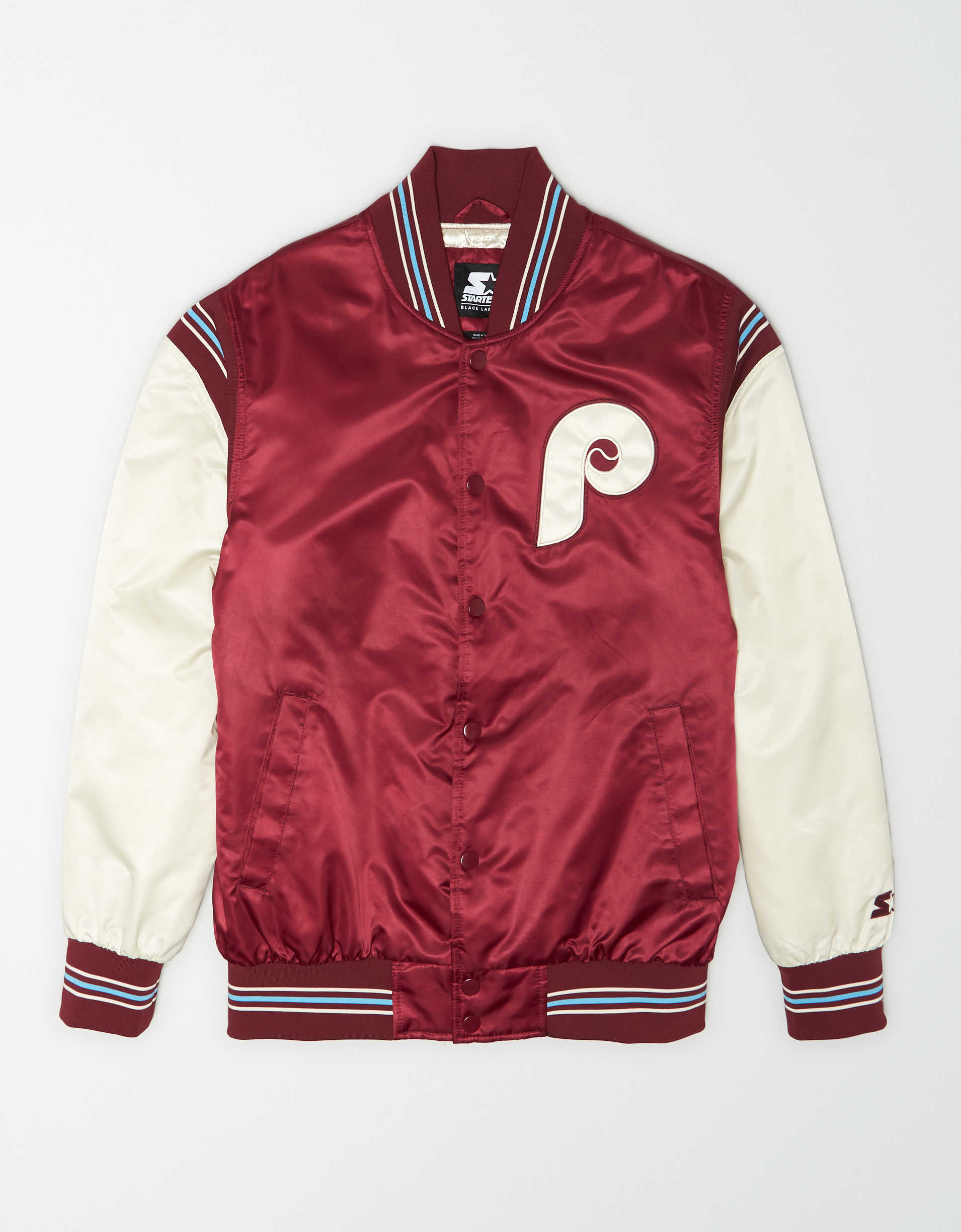 Tailgate X Starter Men's Philadelphia Phillies Varsity Jacket