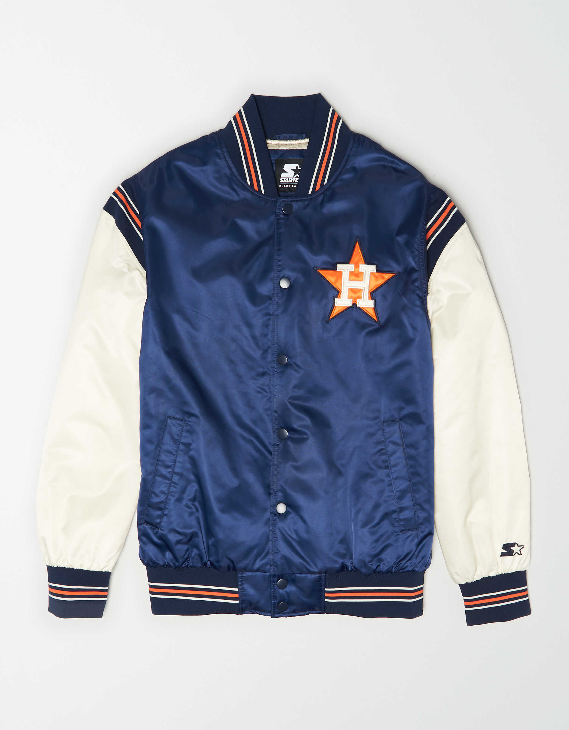 Tailgate X Starter Men's Houston Astros Varsity Jacket