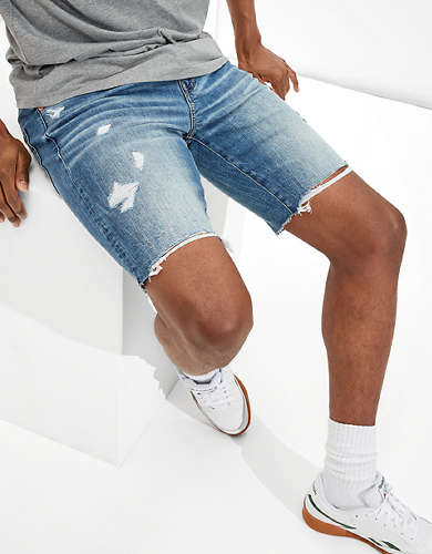 AE AirFlex+ Ripped Denim Short