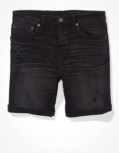 AE AirFlex+ Ripped Move-Free Athletic Denim Short