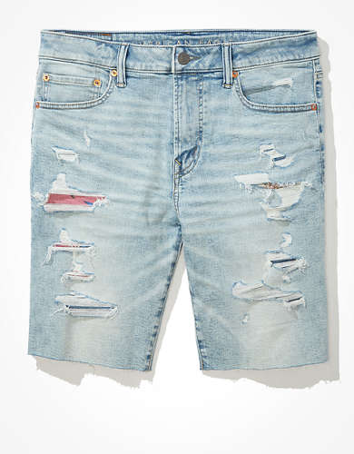 AE AirFlex+ Patched Denim Short