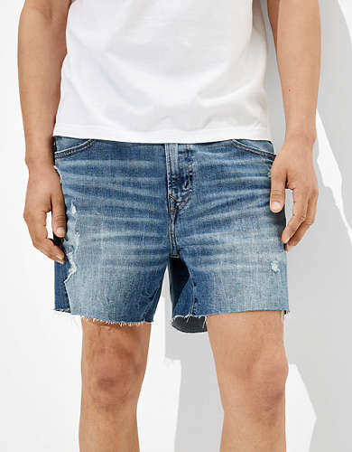 "AE AirFlex+ Shorter 5.5"" Denim Short"