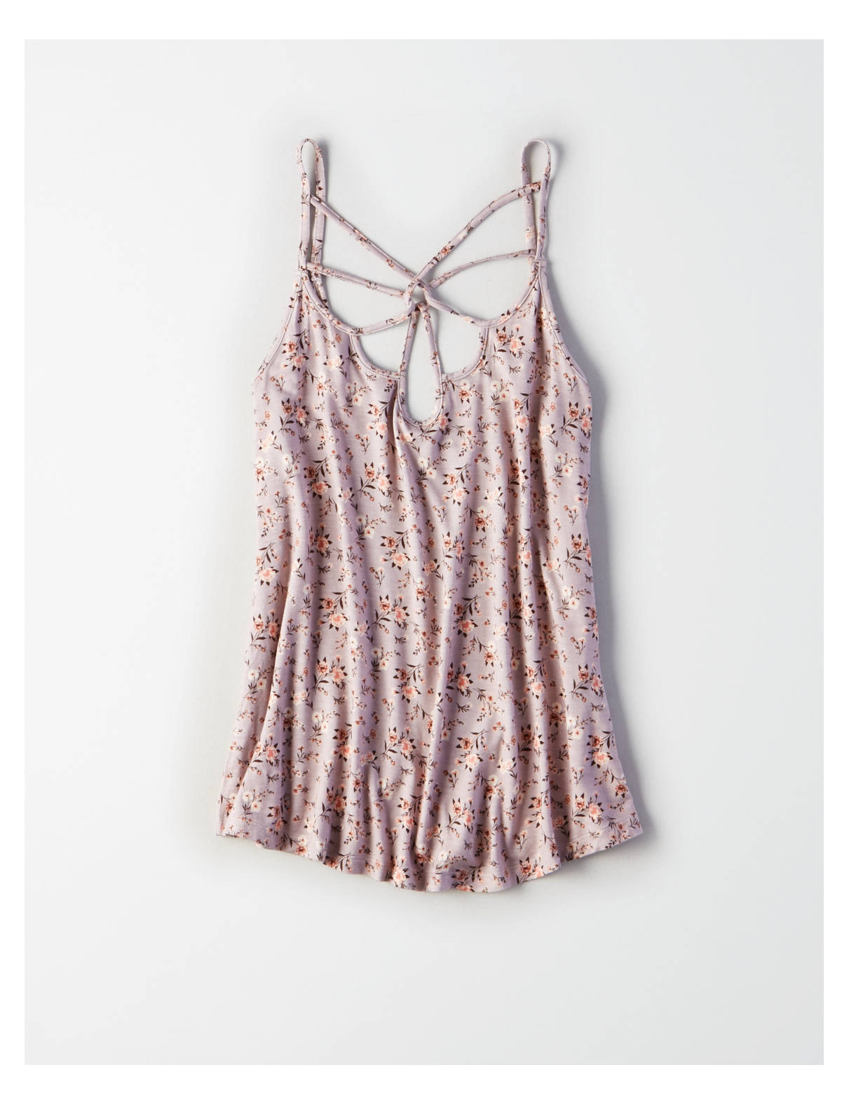 Display product reviews for AE Soft & Sexy Floral Strappy Tank
