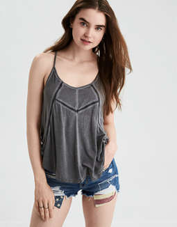 Ae Soft &Amp; Sexy Scoop Neck Tank Top by American Eagle Outfitters