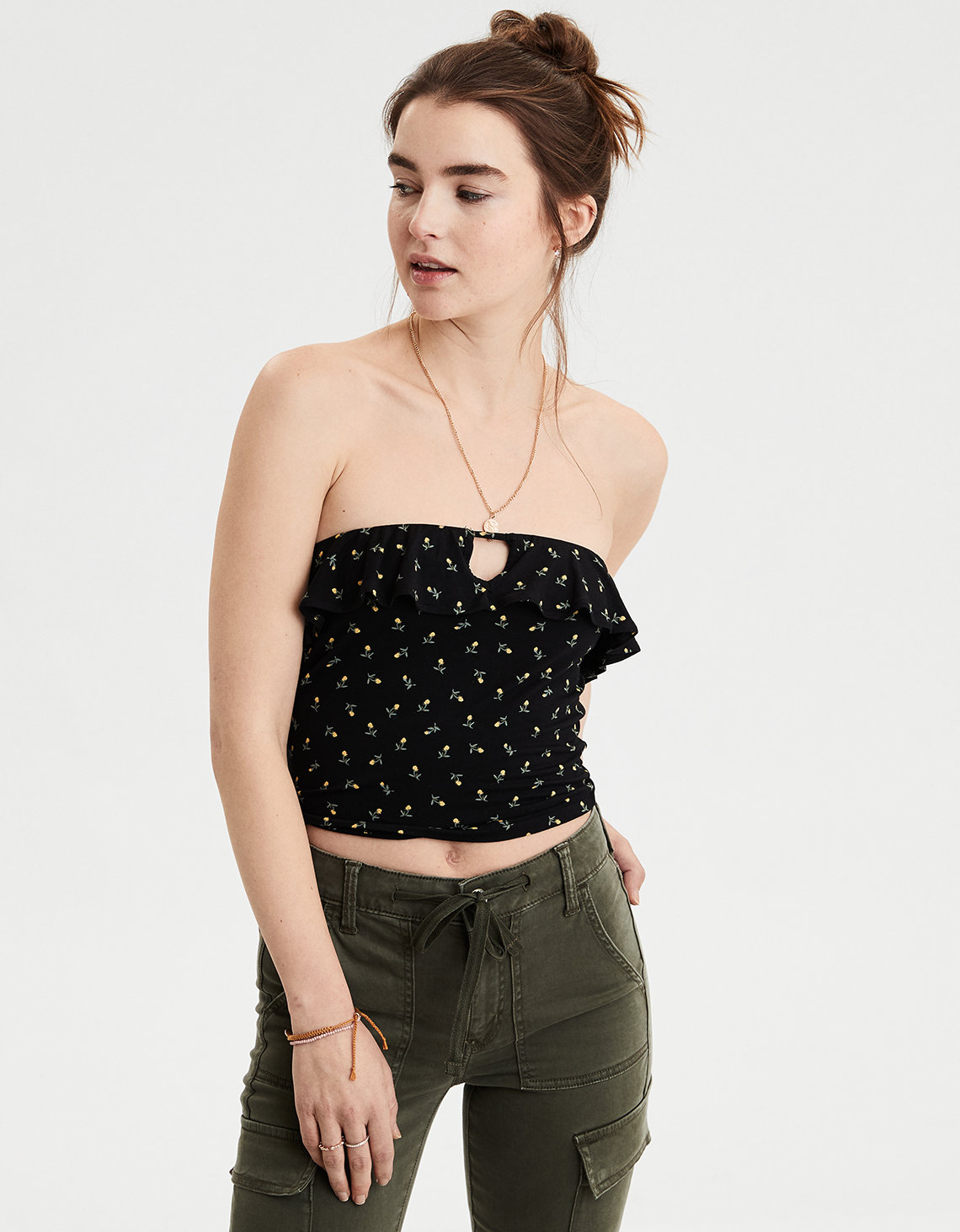 814576ee5a AE Soft   Sexy Ruffle Tube Top. Placeholder image. Product Image