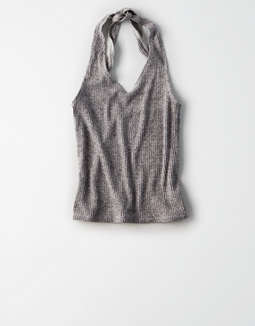 Ae Ribbed Halter Top by American Eagle Outfitters